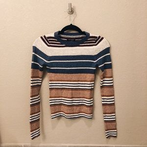 NWT American Eagle Striped Sweater